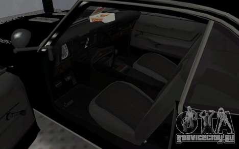 Chevrolet Camaro SS Police для GTA San Andreas вид сзади