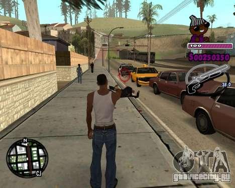C-HUD for Ballas для GTA San Andreas