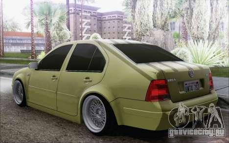 Volkswagen Bora Stance для GTA San Andreas вид слева