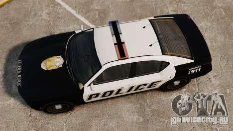GTA V Buffalo Police для GTA 4 вид справа