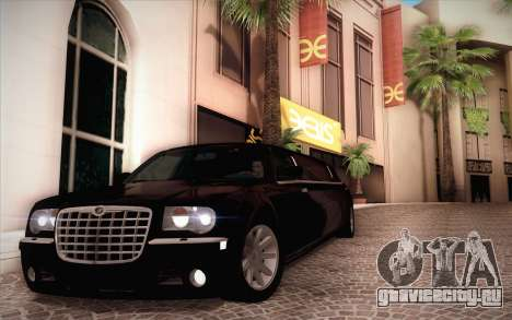 Chrysler 300C Limo 2007 для GTA San Andreas вид сбоку