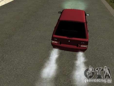 Ваз 2114 БПАN для GTA San Andreas вид сзади