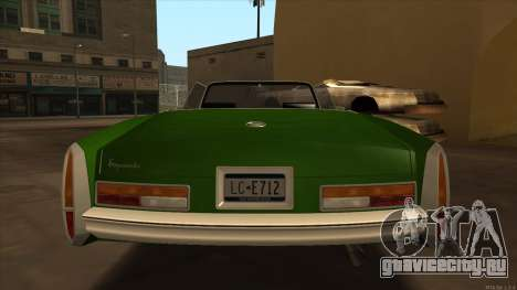 Esperanto HD from GTA 3 для GTA San Andreas вид справа
