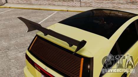 Extreme Spoiler Adder 1.0.7.0 для GTA 4 третий скриншот