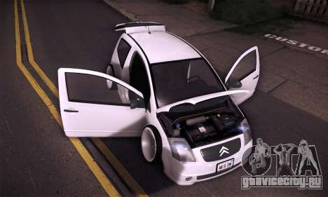 Citroen C2 Tuned для GTA San Andreas