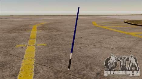 Синий лазерный меч Star Wars для GTA 4