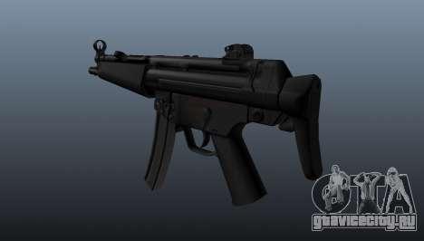 Пистолет-пулемёт HK MP5A5 для GTA 4 второй скриншот