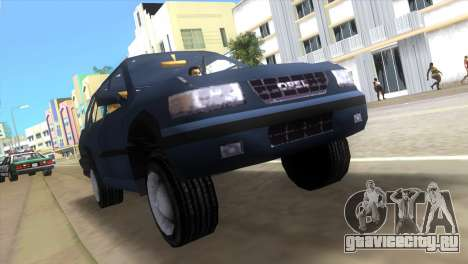 Opel Frontera для GTA Vice City вид слева