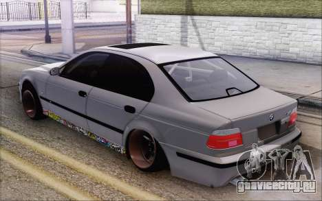 BMW M5 Street для GTA San Andreas вид слева