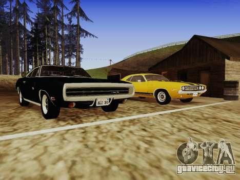SA_RaptorX v 1.0 для слабых ПК для GTA San Andreas десятый скриншот