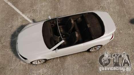 GTA V Zion XS Cabrio [Update] для GTA 4 вид справа