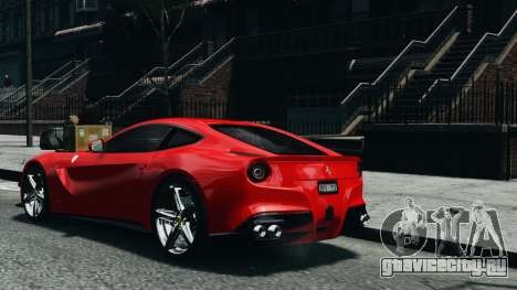 Ferrari F12 Berlinetta 2013 Modified Edition EPM для GTA 4 вид слева