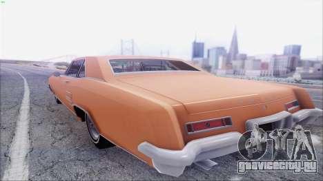 Buick Riviera 1963 для GTA San Andreas вид сзади слева