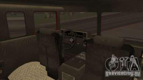 Firetruck HD from GTA 3 для GTA San Andreas вид сзади