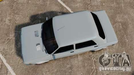 Zastava 128 для GTA 4 вид справа