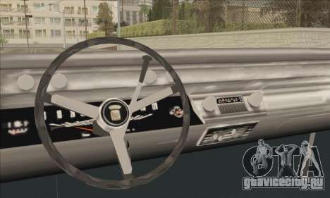 Cadillac Deville Lowrider 1967 для GTA San Andreas вид сзади слева