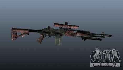 Снайперская винтовка M21 Mk14 v5 для GTA 4 третий скриншот