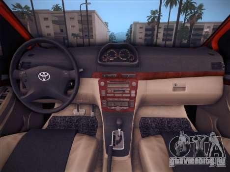 Toyota Vios Modified Indonesia для GTA San Andreas вид сверху