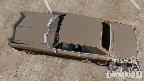 Buick Riviera 1963 для GTA 4 вид справа