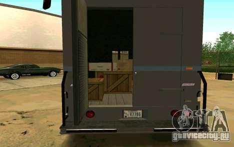 Boxville из GTA 4 для GTA San Andreas вид слева