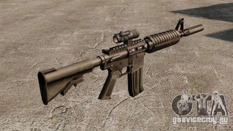 Автомат M4 CAR-15 для GTA 4 второй скриншот