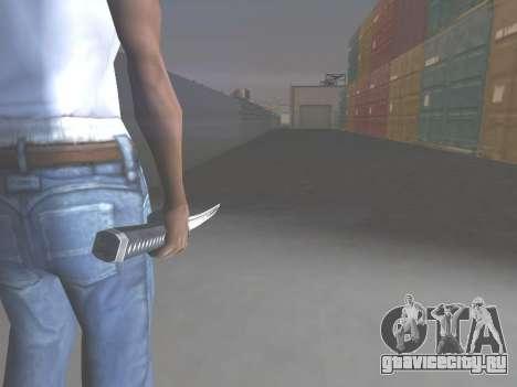 CSO Katana для GTA San Andreas второй скриншот