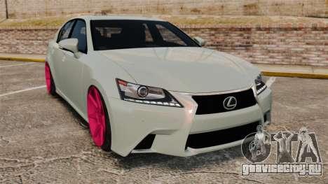 Lexus GS 350 2013 для GTA 4