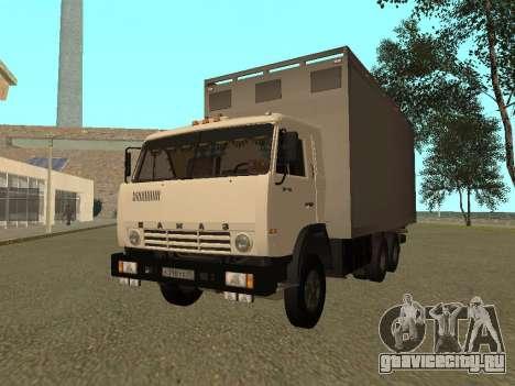 КамАЗ 54115 для GTA San Andreas