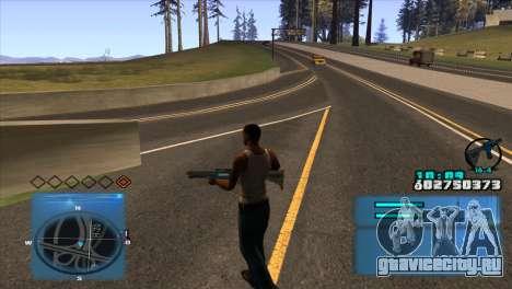 C-HUD Battlefield 3 для GTA San Andreas второй скриншот