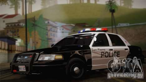 Ford Crown Victoria 2005 Police для GTA San Andreas