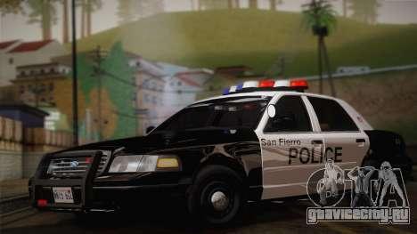 Ford Crown Victoria 2005 Police для GTA San Andreas