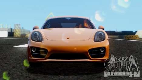 Porsche Cayman S 2014 для GTA San Andreas