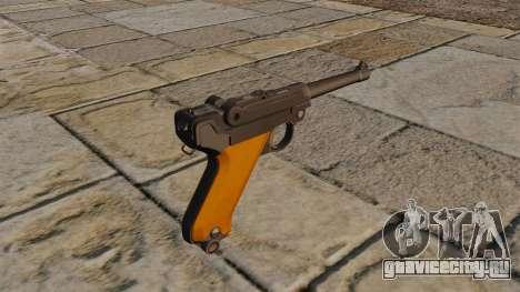 Пистолет Luger P08 для GTA 4 второй скриншот