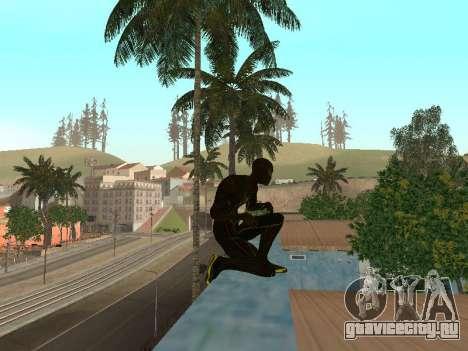 Человек-паук для GTA San Andreas третий скриншот