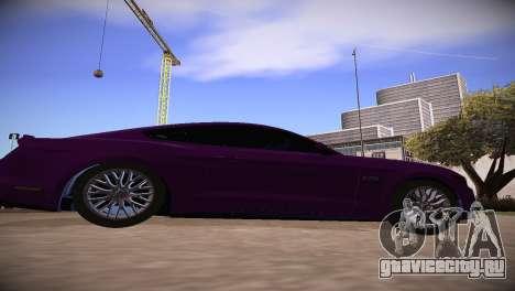 Ford Mustang GT 2015 для GTA San Andreas вид слева