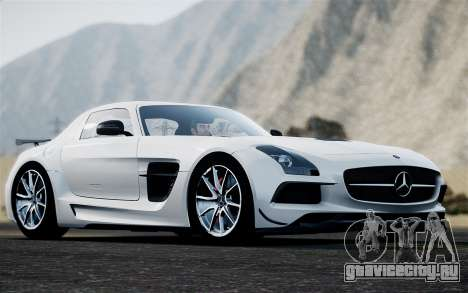 Mercedes-Benz SLS AMG Black Series 2014 для GTA 4