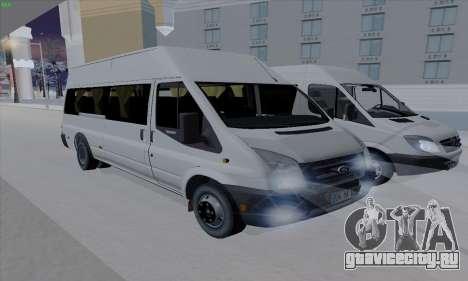 Ford Transit Jumgo для GTA San Andreas