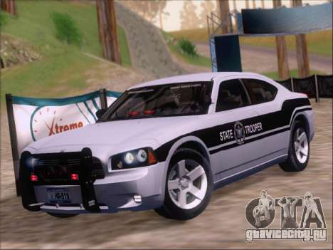 Dodge Charger San Andreas State Trooper для GTA San Andreas