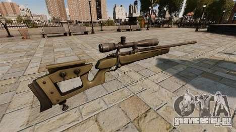 Снайперская винтовка GOL Sniper Magnum v2 для GTA 4 второй скриншот