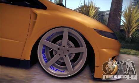 Honda Civic Type R Mugen для GTA San Andreas вид сбоку