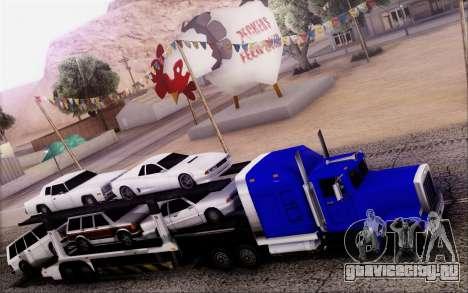 Article Trailer 3 для GTA San Andreas вид сзади слева