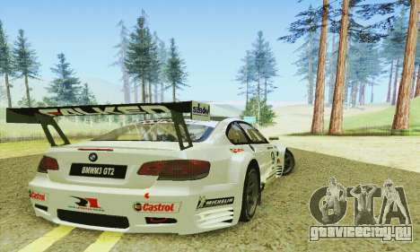 BMW M3 GT2 E92 ALMS для GTA San Andreas вид справа