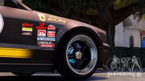Shelby Terlingua Mustang для GTA 4 вид сбоку