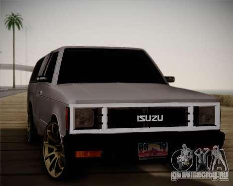 Isuzu KB для GTA San Andreas