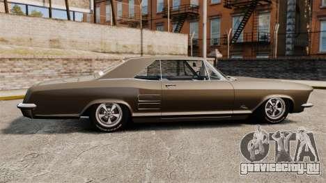 Buick Riviera 1963 для GTA 4 вид слева