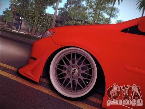 Toyota Vios Modified Indonesia для GTA San Andreas вид изнутри