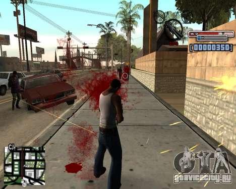 C-HUD by olimpiad для GTA San Andreas второй скриншот