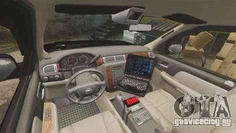 Chevrolet Tahoe 2008 LCPD STL-K Force [ELS] для GTA 4 вид сзади