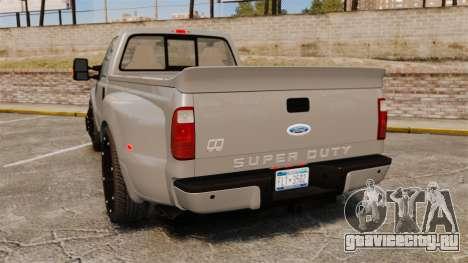 Ford F-350 Pitbull v2.0 для GTA 4 вид сзади слева