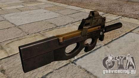 Пистолет-пулемёт P90 обновлённый для GTA 4 второй скриншот